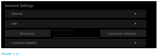 Connect Spark Network Settings – NewTek Knowledge Base