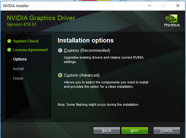 TriCaster - How to update the NVIDIA Graphics Card Driver
