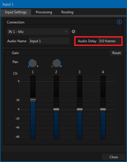 VIDEO SYNC AND AUDIO DELAY – NewTek Knowledge Base